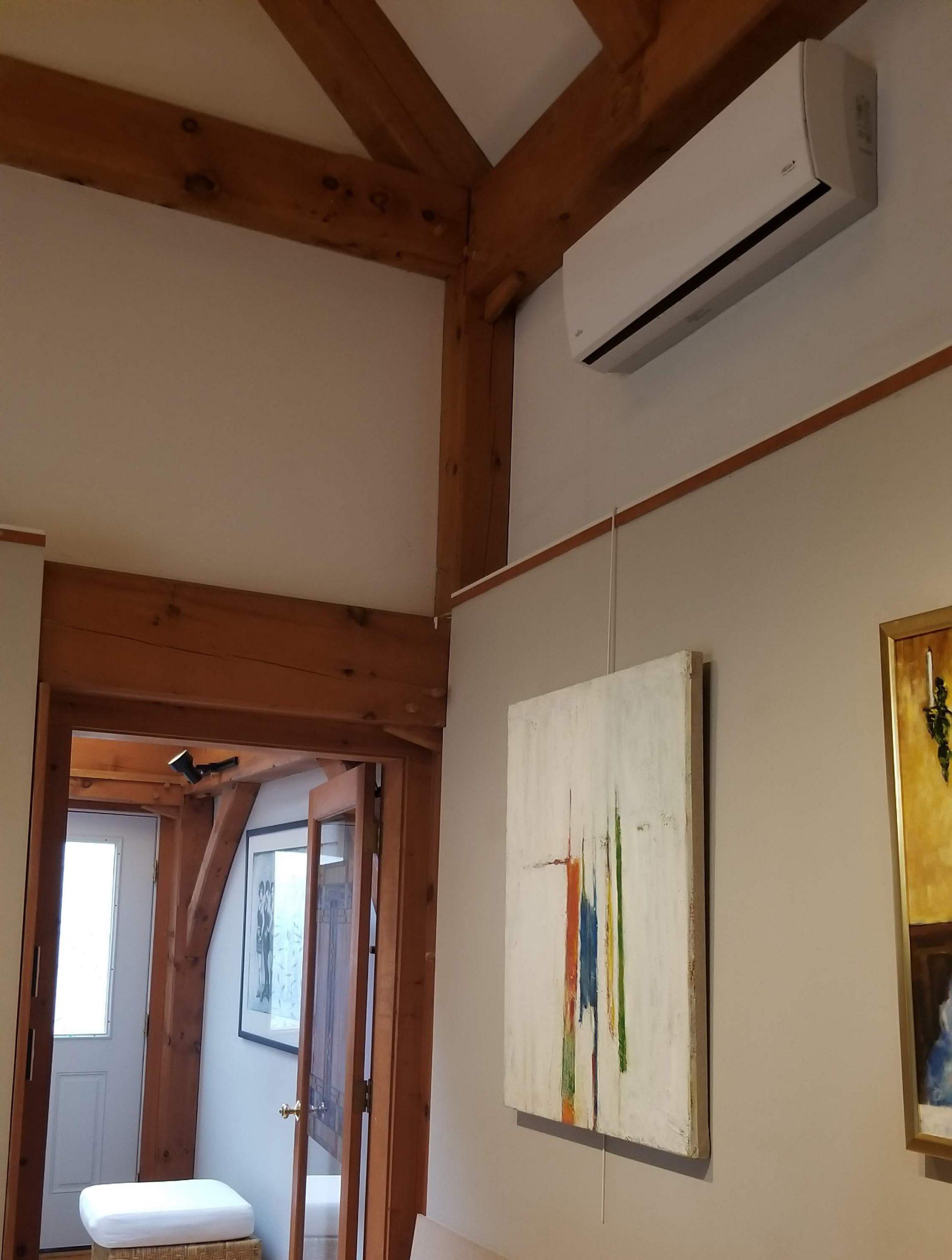 wall-mounted unit